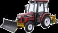 Трактор FOTON FT454 з навісним обладнанням (відвал + щітка)