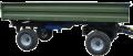Тракторний самоскидний причіп 2ПСТ-8 вантажопідйомність 6 т, об'єм 5,4 м³