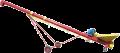 Стаціонарний шнек СШ - привод від електродвигуна