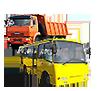 Автобусы, грузовики