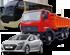 Автобуси, вантажні та легкові автомобілі