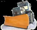 Відвали для підгортання снігу з гідравлічною зміною кута атаки до тракторів Т-150, ХТЗ, МТЗ-1221