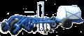 Причіпний культиватор КУ-6,2А з причіпним обладнанням для внесення рідких мінеральних добрив