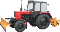 Трактор МТЗ-82 МК з комунальним устаткуванням (відвал+щітка)