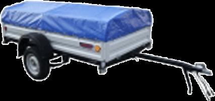 Причіп з тентом КрКЗ-200 (низький тент)
